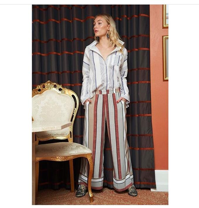 Muse - Morgan Pants - pyjamas striber -