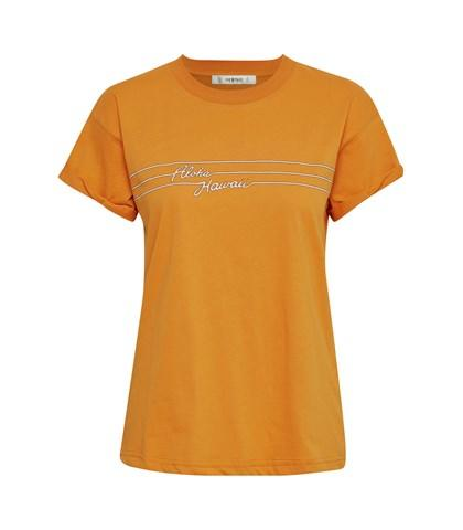 GESTUZ - Hawaii Tee Desert Sun - Orange