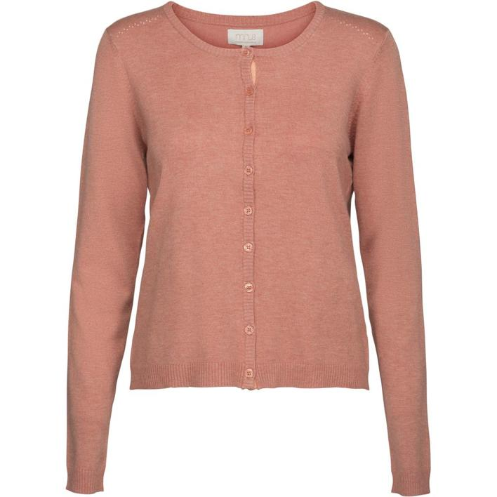 MINUS - NEW LAURA -LOBSTER Bisque Melange - CARDIGAN