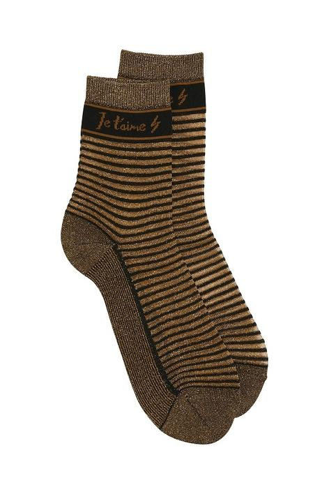 GESTUZ - Ginger Bread Socks - Brun