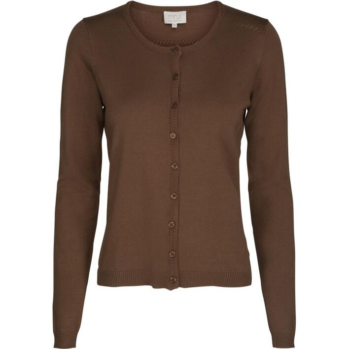 MINUS - NEW LAURA - 364 Walnut brown - CARDIGAN